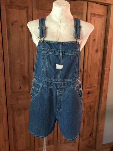 Vintage Y2K Overall Shorts Old Navy Blue Jean Wome