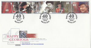 08302-GB-FDC-Queen-Accession-Sooty-Shipley-6-February-1982