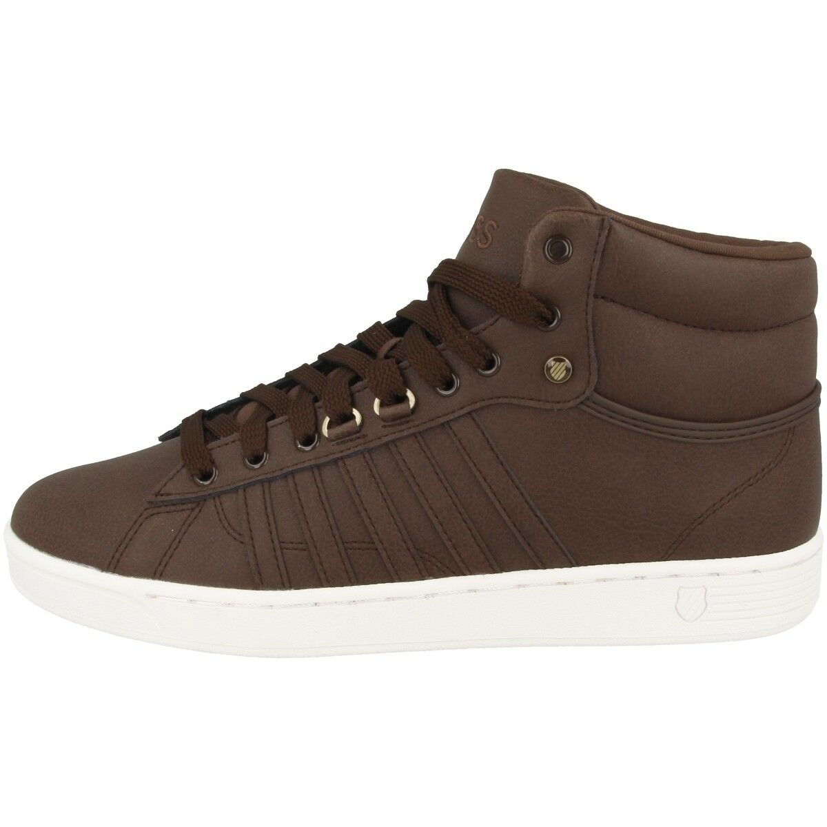 K-Swiss Hoke Mid CMF Men Schuhe Herren High Top Turnschuhe chocolate 05464-296