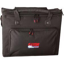 Gator GRB-3U 3 Rack Space Gig Bag for FX Processors Guitar Bass Amp Heads EQ