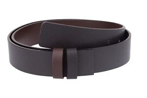 """Saffiano Leather 30 mm Replacement Belt Strap For Men/'s buckles Adjustable 36/"""""""