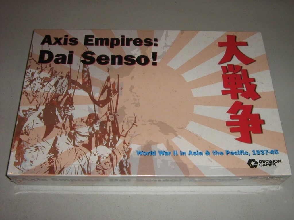 Axis Empires  Dai Senso  World War II in Asia & the Pacific, 1937-45 (New)