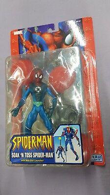 Soak 'n Toss Spider-man With Web-ball Action Figur Toybiz Spiderman Neu 2005 Sammeln & Seltenes