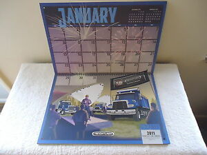 Lot-Of-5-034-NIP-034-2017-Freightliner-Truck-Advertising-Wall-Calendars-034-GREAT-COLL