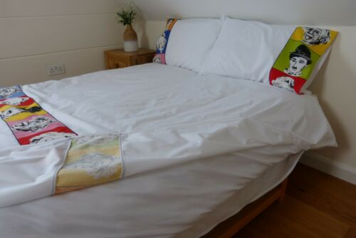 King Size Duvet Cover with Continuous ZIP Closure on THREE SIDES Double