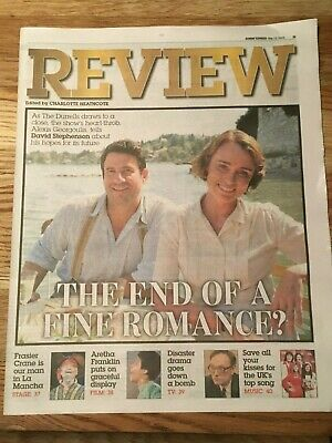 The Durrells Keeley Hawes Alexis Georgoulis Photo Cover Interview May 2019 Ebay Nia vardalos and alexis georgoulis interview. ebay