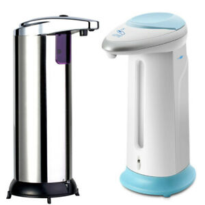 400ml Desinfektionsmittelspender Infrarot Automatik Seifenspender mit Sensor DHL