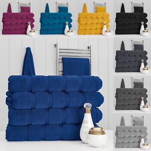 Nella-Milan-100-Cotton-2-or-4-Pack-Large-Jumbo-Bath-Sheet-Towel-Set-Towels-Soft