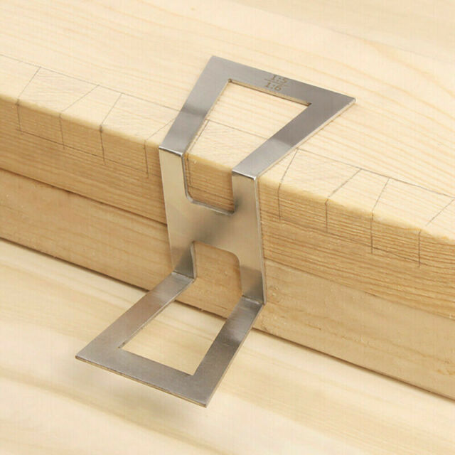 Hand Cut Wood Joints Dovetail Jig Guide Marker Gauge Router Table Saw Diy Tools