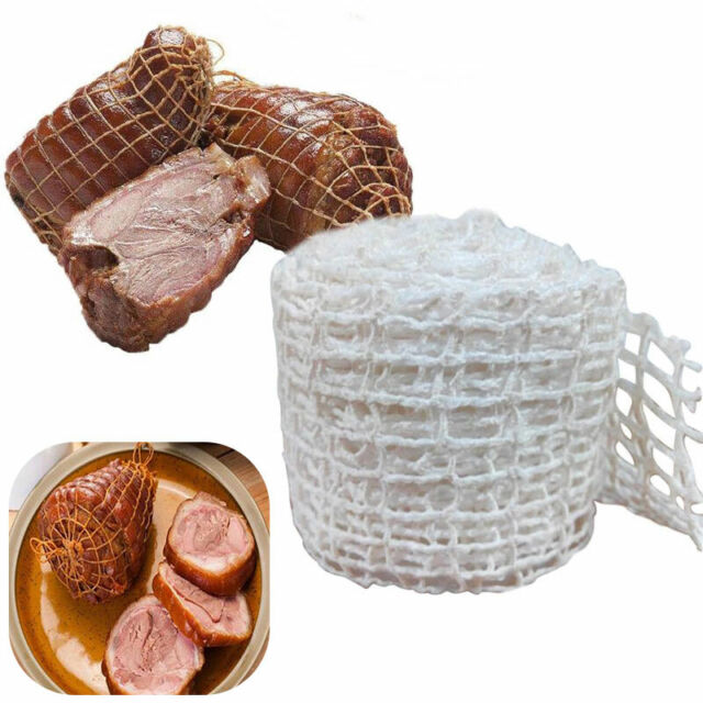 3 Meter Cotton Meat Ham Butcher String Sausage Net Roll Cooking Packaging Tools