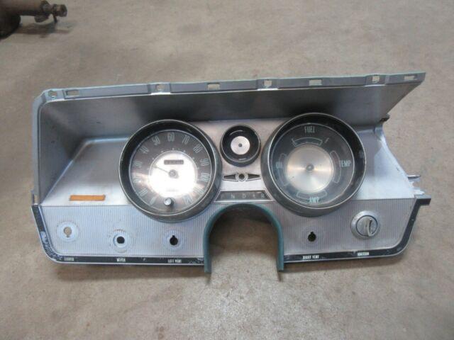 1963 Buick Lesabre interior dash panel speedometer gauge instrument cluster trim