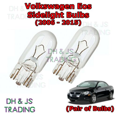 Volkswagen Eos Front Sidelights Parking Lights Side Light Bulb Bulbs 06-15