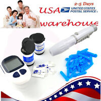 Us Home Health Care Blood Glucose Monitor Diabetes Test Monitor Kit Glucometer N