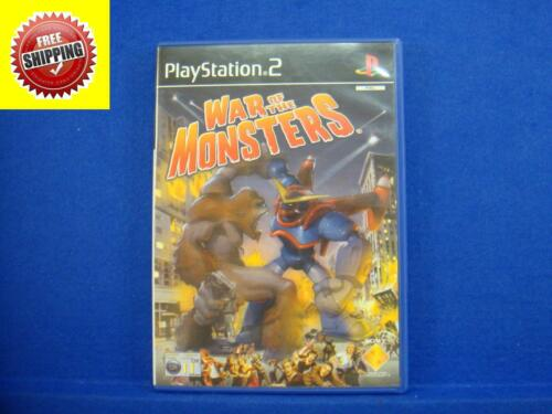 1 of 1 - ps2 WAR OF THE MONSTERS Epic Battles Action Game Playstation PAL UK Version