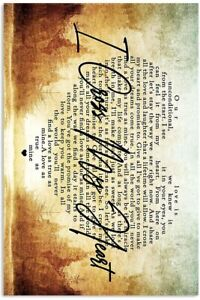 GeorgeStrait-I-Cross-My-Heart-Vertical-MoviesWall-Decor-Poster-No-Framed