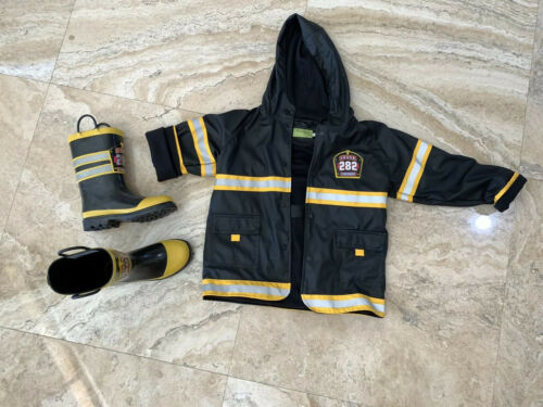 kids fireman costume With Boots