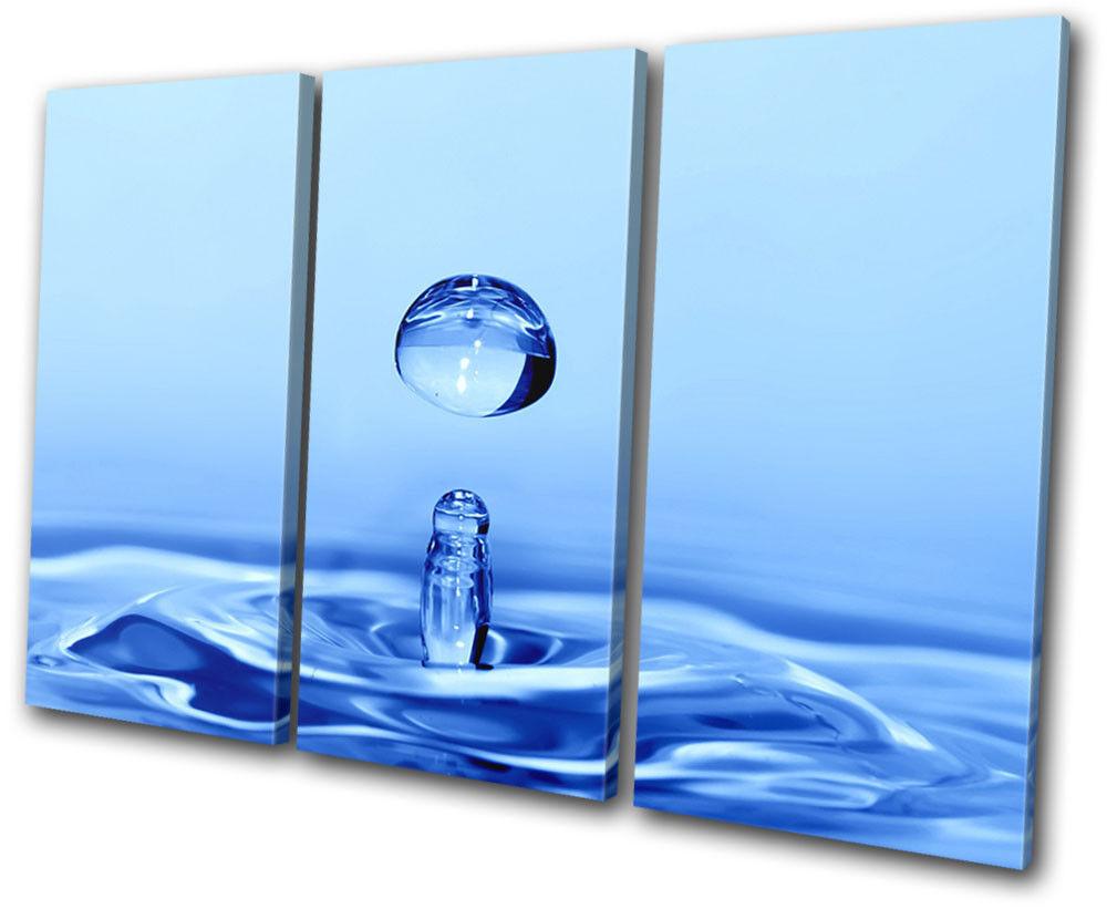 Water Splash Foto Abstract TREBLE LONA pa rojo  arte Foto Splash impresion 11e416