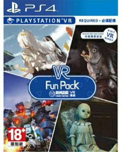 Dying Reborn PS4 Oasis VR Fun Pack- Weeping Doll Light Tracker Pixel Gear