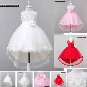 Vestito-Bambina-Abito-Cerimonia-Feste-Elegante-Girl-Party-Princess-Dress-CDR058
