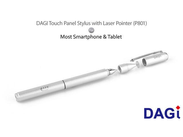 3 in 1 DAGi P801 Touch Stylus Pen for HP Pavilion ENVY Dell Inspiron XPS G3 G5