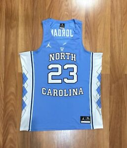 brand new eed30 8e598 Details about AUTHENTIC NIKE JORDAN UNC NORTH CAROLINA TAR HEELS NCAA  BASKETBALL JERSEY XL