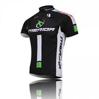 Merida Black-green Bike Jacket Quick Dry Bicycle Jersey Top Cycling Shirt S-3xl