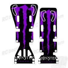 T-Maxx / E-Maxx INTEGY Skid Plate Protectors Monster- Purple - Traxxas