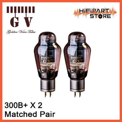 Matched Pair New product Ia /& Gm match test by AT1000 2pcs Golden Voice GV 300B