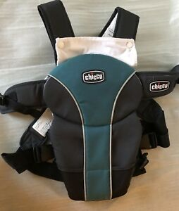 3fcaccaec2f Image is loading Chicco-Ultrasoft-Baby-Infant-Carrier-in-Black-Teal-
