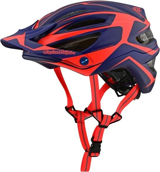 Troy Lee Designs A2 Dropout Helmet MIPS Navy orange SM