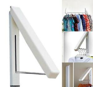 Retractable Clothes Hanger Drying Rack Folding Clothes Hanger Wall Mounted LP