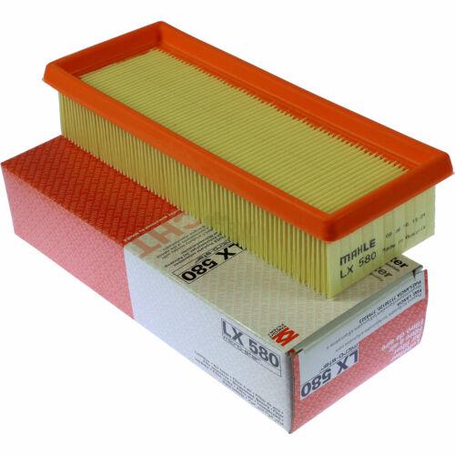 Original MAHLE KNECHT LX 580 Luftfilter Filter Air Fiat Seicento 187 Punto 176