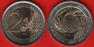 Italy 2 Euro 2004 World Food Programme Bimetallic Unc Ebay