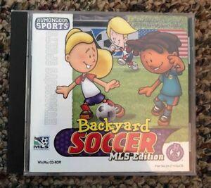 Backyard Soccer MLS Edition (Windows/Mac, 2000 ...