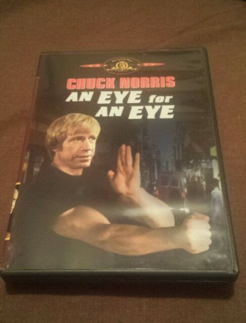AN EYE FOR AN EYE DVD (1981) Chuck Norris RARE & OOP MGM Action Revenge Thriller