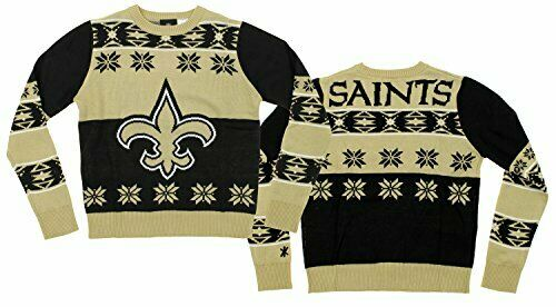 NFL Youth New Orleans Saints Ugly Crewneck Sweater