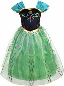 Dressy-Daisy-Girls-Ice-Princess-Sister-Fancy-Dress-Costume-Outfit-Age-6-7-B42