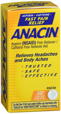 what is anacin tablet used for