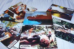 L-039-INCROYABLE-ALLIGATOR-jeu-12-photos-cinema-lobby-cards-fantastique-horreur