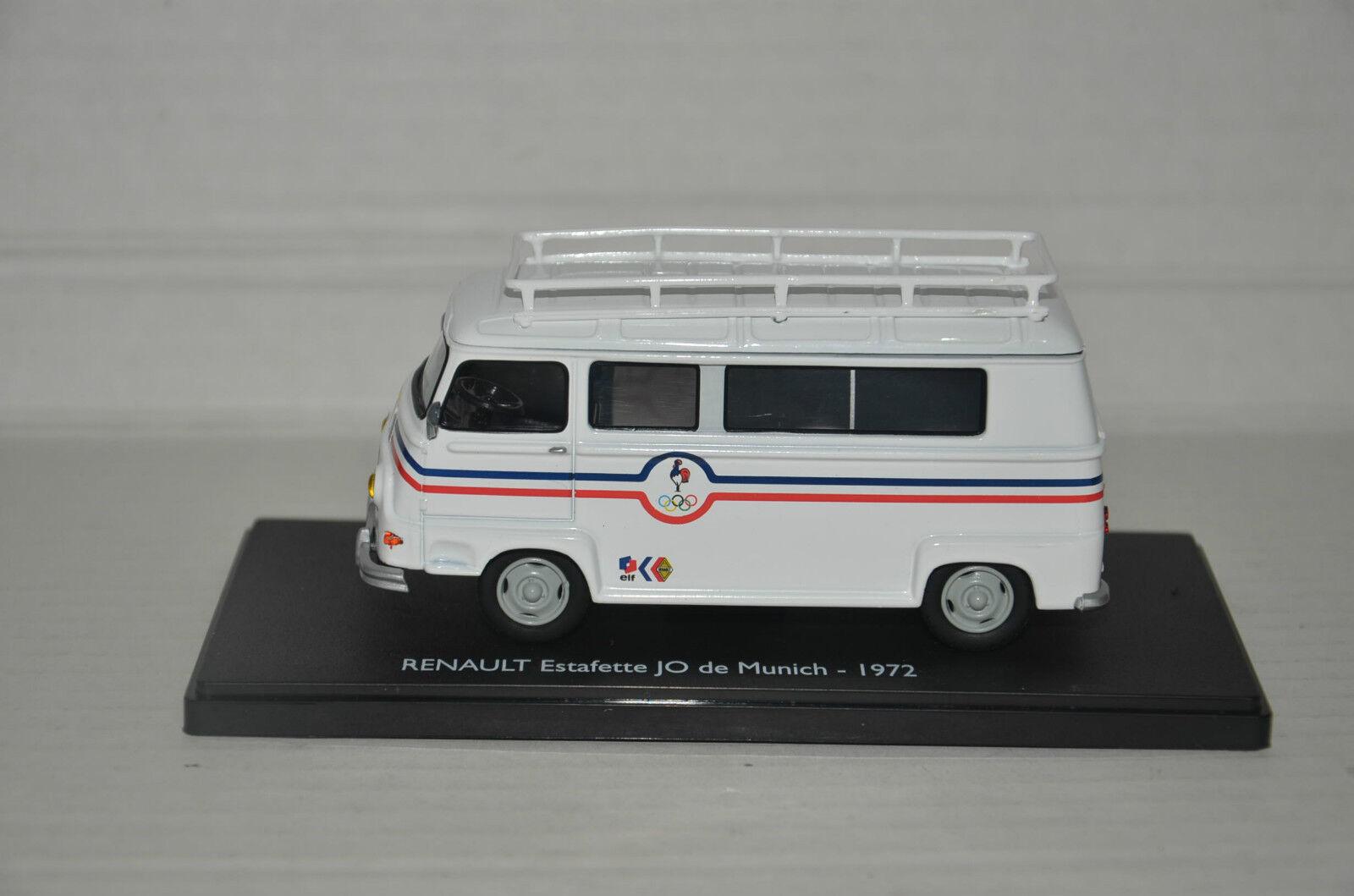 Renault Estafette Olimpic Game de Munich 1972 Eligor Eligor Eligor 1 43 Bad Days Of Israel 95eaa9