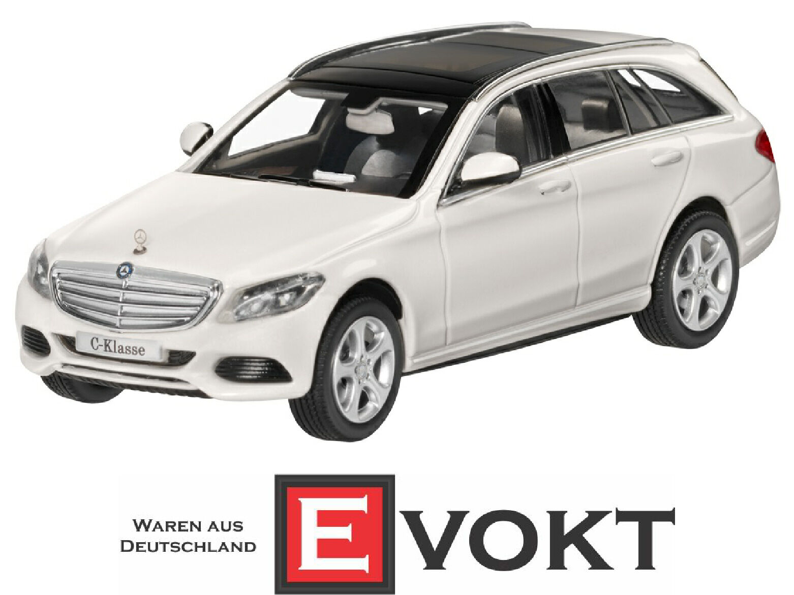Norev mercedes - benz c klasse t-model ausschließlich weiße modell auto 1 43 echte neue
