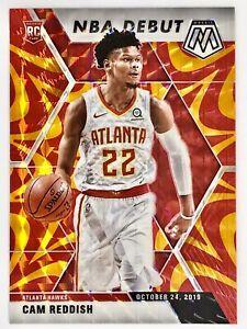 2019-20 Panini Prizm Mosaic Cam Reddish Rookie Card Orange Reactive NBA Debut🔥