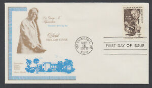 US-Pl-1754-D-FDC-1978-13c-Cancer-Detection-Papanicolaou-Research-FIRST-CACHET