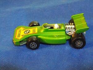 Matchbox-Superfast-Vintage-1973-equipo-Matchbox-Verde-No-24-coche-de-carreras