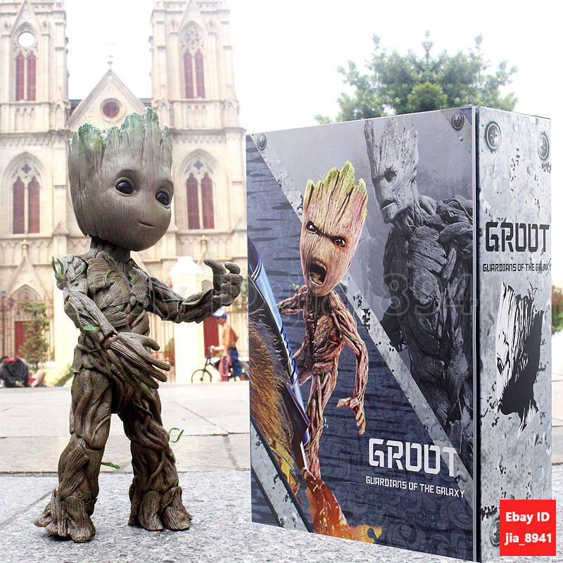 Groot Groot Groot Life-Dimensione azione cifra Caliente giocattoli Guardians of The Galaxy Vol. 2 LMS fcc4ad