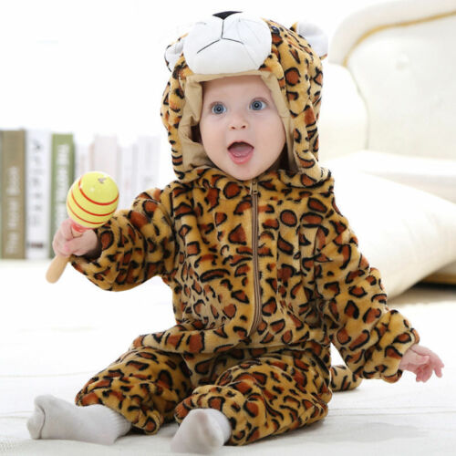 Baby Pajamas 0-24Months Pajamas Kigurumi Animal Role Play Dress