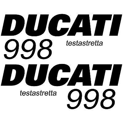 MAXI SET DUCATI DESMOQUATTRO 996 Vinyl Decal Stickers Sheet Motorcycle Tank