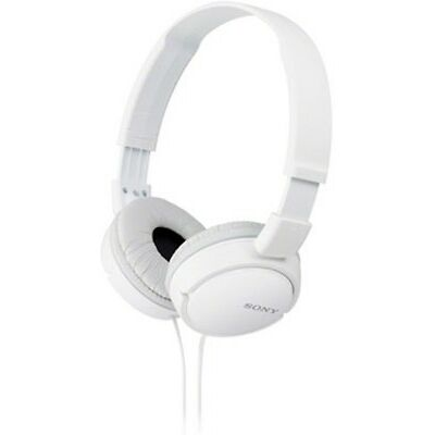 Sony mdr zx110a Wired Headphones(White)  free shipping MRP 1390/- refurbished