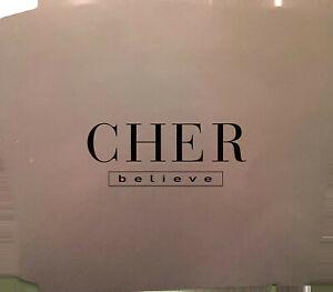 Cher Maxi CD Believe - Promo - UK (EX+/VG+)