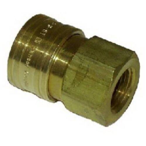 Mi T M AW-0017-0004 3//8 FNPT x 3//8 FPT QC Socket